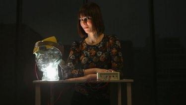 Seeing the light: Rebecca Segrave.