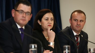All regions, including those led by Victoria Premier Daniel Andrews, Queensland Premier Annastacia Palaszczuk and ACT Chief Minister Andrew Barr, would get more money under a model proposed by the Australian Council of Social Service.