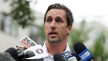 Admission: Mitchell Pearce is getting help for his alcohol problem.