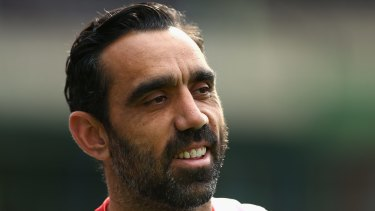 Why can't Adam Goodes just respectfully defer to Alan Jones and Andrew Bolt on why racism isn't a thing?