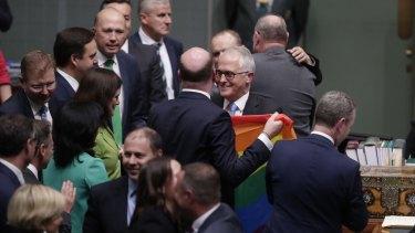The same-sex marriage legislation passes Parliament.