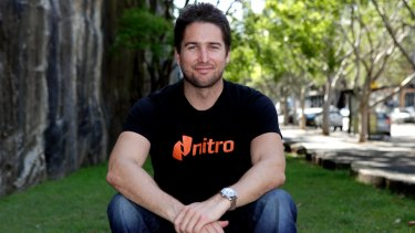 Nitro co-founder and chief executive Sam Chandler.