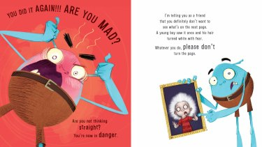 Images from Andy Lee's new children's book.