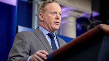 White House press secretary Sean Spicer ... a platform for misinformation?