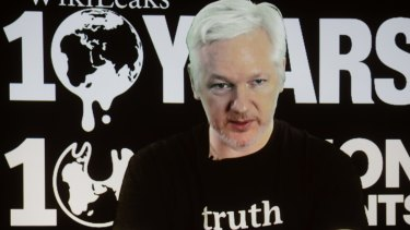 Wikileaks is seen as a conduit for Russian hacked emails.