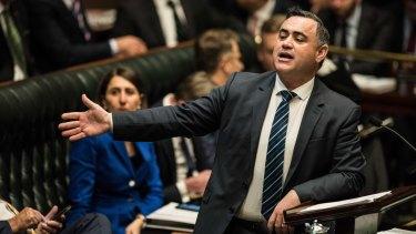 NSW Deputy Premier John Barilaro says there is no federal leadership.