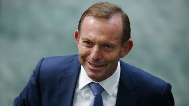 Tony Abbott has revealed he was advised against the super-ministry.