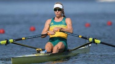 Gold medal chance: Kim Brennan.