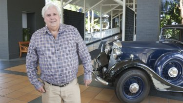 Clive Palmer might be looking at the end of his business empire.