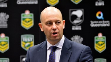 In the running:  NRL head of football Todd Greenberg may get the top job.