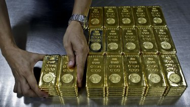 Investors dumped gold miners as the price of the precious metal dropped below $US1200 an ounce.