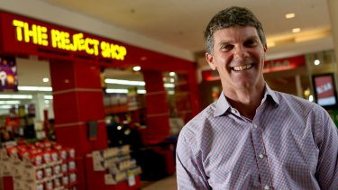 Ross Sudano says The Reject Shop made a mistake with its store layouts.