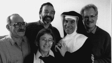 (Left to right). Peter Bonsall-Boone, Sue Wills, Peter de Waal, Fabian Lo Schiavo and Robert Walmsley.