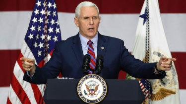 Mike Pence will arrive in Australia next week as part of his Asia-Pacific tour.