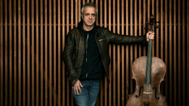 Cellist Giovanni Sollima was guest director of the ACO for Sequenza Italiana.