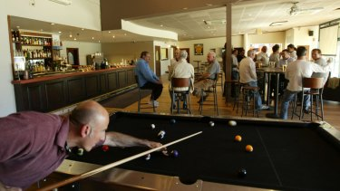 Site of proposed childcare centre: Paddington Bowling Club.