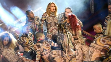 She directed Jennifer Lopez's dance moves at the 2015 American Music Awards.