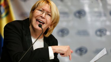Venezuelan ousted chief prosecutor Luisa Ortega Diaz said President Nicolas Maduro removed her to stop a probe linking him and his inner circle to bribes from Brazilian construction company Odebrecht.