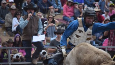 Mitchell Gajkowski was Australian champion for steer riding at the age of 14, his mother says.