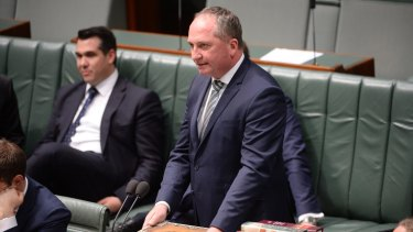 "Deputy Prime Minister Barnaby Joyce said he was not ""any sort of saint"" during debate on gay marriage on Thursday."