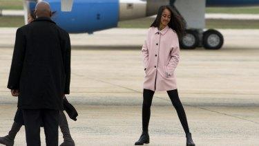 Malia Obama will take a gap year before starting college.