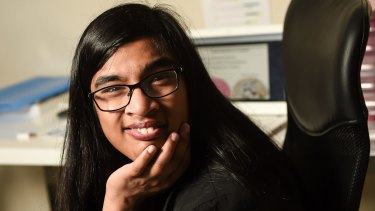 Jerusha Mather has cerebral palsy and wants to study medicine.