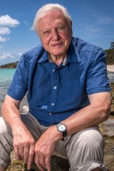 David Attenborough hopes people who we inspired by the naming poll will track the ship's exploration with interest.
