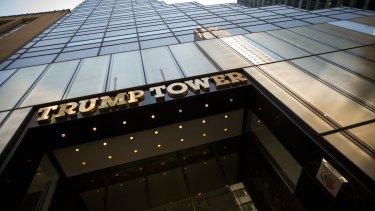 Trump Tower in New York, the headquarters of Ivanka Trump's company.