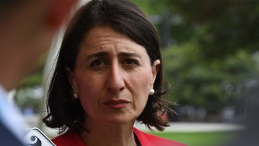 Premier Gladys Berejiklian does not support a statewide ban on single-use plastic bags.