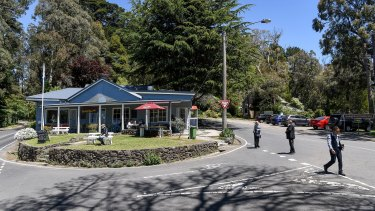 Just 10 crimes were recorded in Kalorama last year.