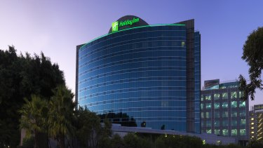 The Holiday Inn, near Sydney Airport, where hotel demand is very strong