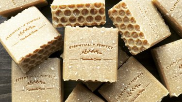 Essentially Perfect handmade soap.
