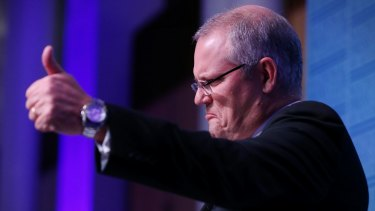 Treasurer Scott Morrison said the banking system is the economy's greatest asset.