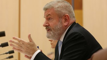 Communications Minister Senator Mitch Fifield.