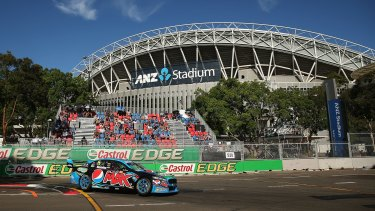 Last hurrah: The V8 Supercars round at Sydney Olympic Park will end this year.