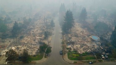 Newly homeless residents of California wine country took stock of their shattered lives on Tuesday, a day after deadly wildfires destroyed homes and businesses.