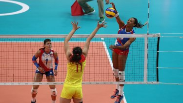 Puerto Rico lost to China in volleyball.