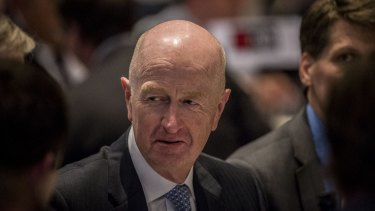 Glenn Stevens says GDP growth under 3 per cent may be the new normal.