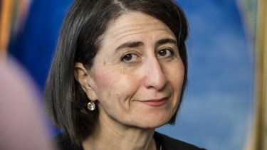 Premier Gladys Berejiklian is the major drawcard for  the Liberal Party fundraising lunch.