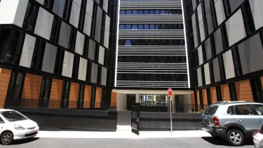 Iglu's new student hostel at Chatswood in Sydney.