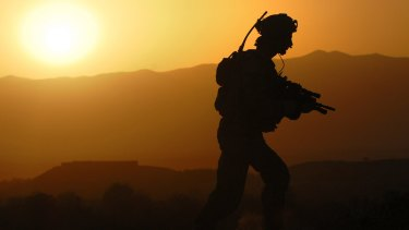 Off to war: It's time our nation's government provided better services to our veterans, many of whom suffer ongoing conditions such as depression and PTSD upon their return.