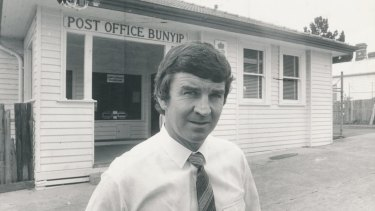 Labor member for Macmillan, Barry Cunningham, in 1981.