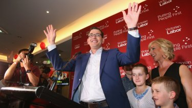 Winning tactic: Daniel Andrews was advised to 'be yourself.'
