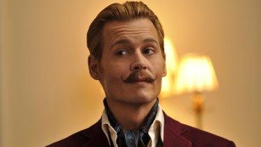 Johnny Depp stars as the lead role in David Koepp's <em>Mortdecai.</em>
