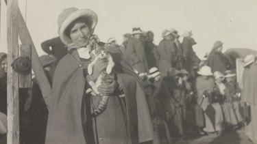 Florence Elizabeth McMillan, one of the nurses on the Greek Island of Lemnos during World War I.