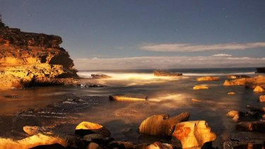 Jackson Williams took this moody shot of Terrigal and its landmark the Skillion on the night he died in a crash.