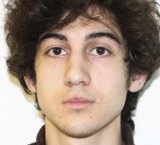 Boston Marathon bombing accused Dzhokhar Tsarnaev.