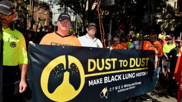 200 union members from regional Queensland attended the rally.