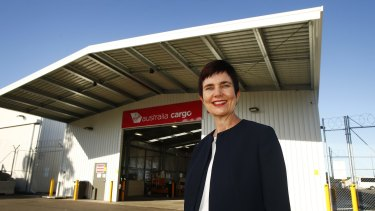 Virgin freight head Merren McArthur says her team scrambled to find space for a cargo shed at Sydney Airport.