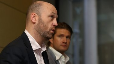 Drawn out: Australian Cricketers' Association chief Alistair Nicholson expressed concern to players over how long arbitration could be dragged out in the pay dispute with Cricket Australia.